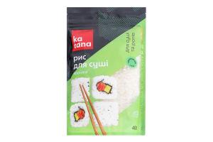 Рис круглозернистый для суши и роллов Японика Katana д/п 400г