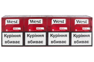 Сигарети West Red XL (25)
