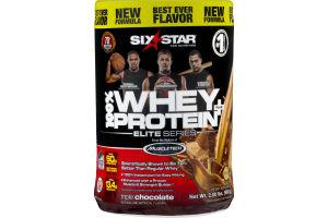 Six Star 100% Whey Protein Plus Elite Series Triple Chocolate