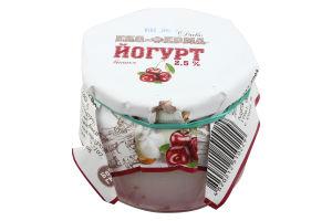 Йогурт Еко-фермаДиво вишня з нат ягод термост2,5%