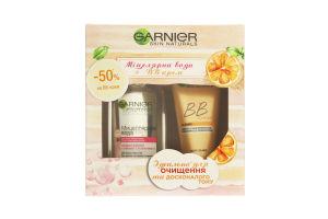 Набор декоративной косметики для лица Мицеллярная вода+BB Крем Garnier 1шт