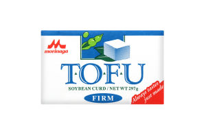 Сыр соевый твердый Tofu Morinaga к/у 297г