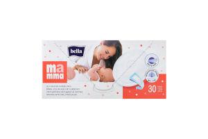 Вкладки лактаційні з липкою смужкою Mamma Bella 30шт