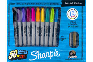 Sharpie Permanent Marker Special Edition - 12 CT