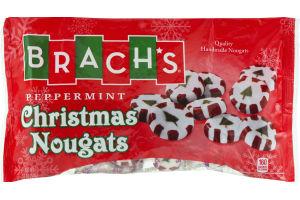 Brach's Peppermint Christmas Nougats