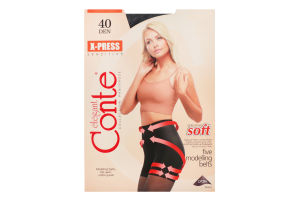 Колготки жіночі Conte X-press 40den №3 nero