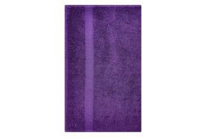 Полотенце махровое фиолетовое 50х90см 400г/м2 Саффран 1шт