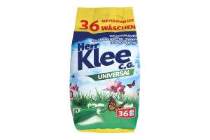 Порошок стиральный Universal Herr Klee 3кг