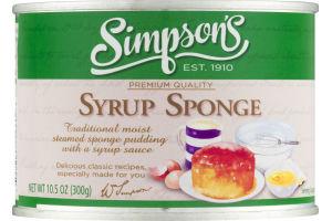 Simpson's Premium Quality Syrup Sponge