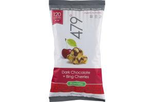 479 Dark Chocolate + Bing Cherries Popcorn