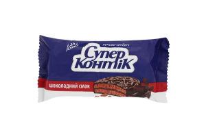 Печенье-сэндвич с шоколадным вкусом Супер-Контик Кonti м/у 100г