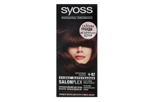 Крем-фарба для волосся Salonplex Professinal performance №4-82 Syoss 1шт
