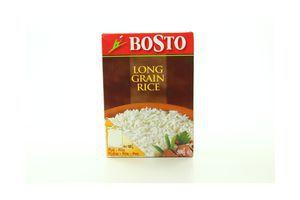 Рис длиннозернистый в пакетиках Bosto к/у 4х125г