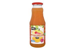 Сік яблучно-гарбузовий неосвітлений пастеризований Sims Juice с/пл 330мл