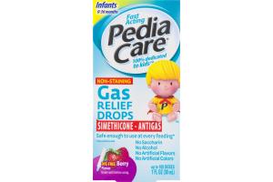 PediaCare Gas Relief Drops Infants 0-36 Months Berry