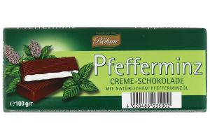 Шоколад темний з м'ятною начинкою Бьоме 100г
