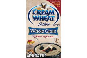 Cream of Wheat Instant Hot Cereal Whole Grain - 8 CT