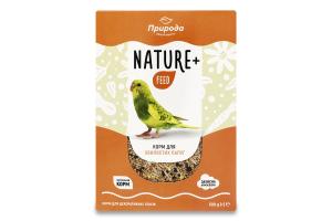 Корм для волнистых попугаев Nature+ feed Природа к/у 500г
