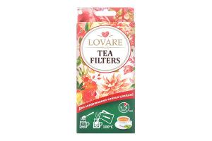 Фільтр-пакети для заварювання чайних сумішей Lovare 50шт