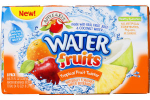 Apple & Eve Water Fruits Naturally Flavored Water Beverage Tropical Fruit Twister - 8 CT