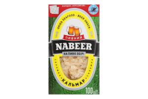 Кальмар солоно-сушений соломка Пивний Nabeer к/у 100г