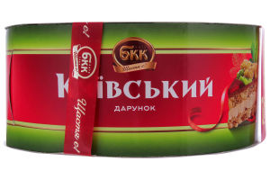 Торт БКК Киевский подарок с арахисом