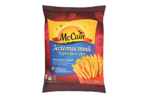 Картопля фрі золотиста McCain м/у 750г
