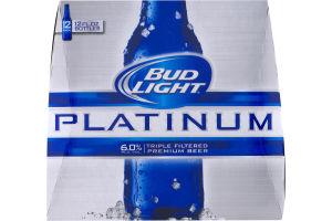 Bud Light Platinum Beer - 12 PK