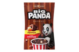 Попкорн в карамелі зі смаком шоколаду Big Panda д/п 90г