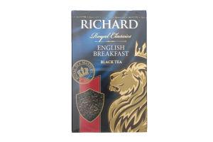 Чай черный среднелистовой English Breakfast Richard к/у 90г