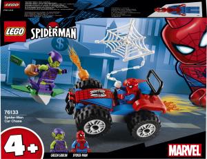 Конструктор Людина-Павук та переслідування на автомобілі76133