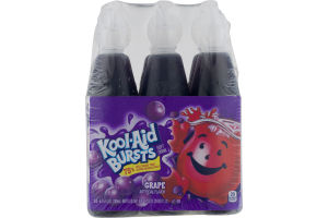 Kool-Aid Bursts Soft Drink Grape - 6 PK