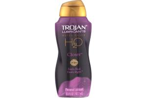 Trojan Lubricants H2O Closer Personal Lubricant