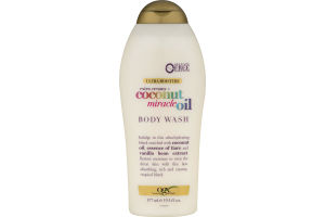 OGX Ultra Moisture Body Wash Extra Creamy + Coconut Miracle Oil
