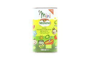 Масло оливковое Extra Virgin Mini Monini ж/б 500мл