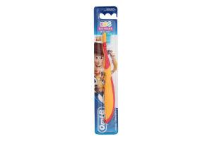 Зубна щітка для дітей 3-5років екстрам'яка Kids Oral-B 1шт
