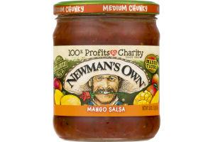 Newman's Own Mango Salsa Medium Chunky