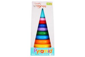 Іграшка для дітей від 12міс №39372 Pyramid Tigres 1шт