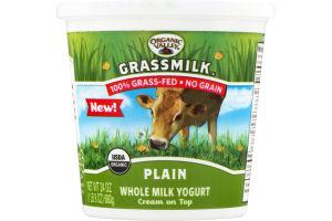 Organic Valley Grassmilk Whole Milk Yogurt Plain