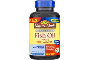 Nature Made Ultra Omega-3 Fish Oil Softgels - 90 CT