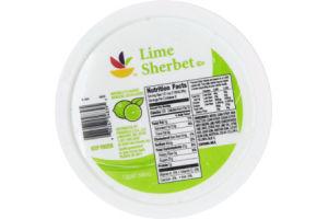 Ahold Lime Sherbet