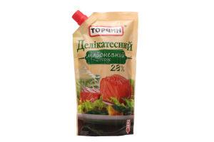 Соус майонезный 28% Деликатесный Торчин д/п 300г