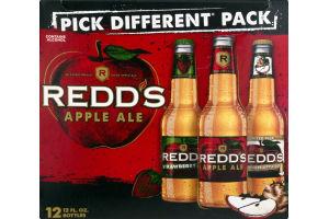 Redd's Apple Ale Pick Different Pack - 12 PK