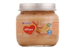 Пюре дитяче фруктове Банан Milupa для дітей від 4 місяців 100г
