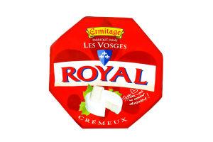 Сир м'який витриманий з білою пліснявою Cremeux Royal Ermitage м/у 250г