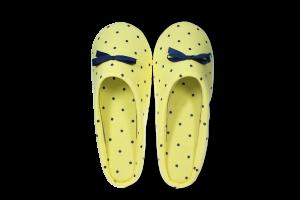Тапочки-получешки комнатные женские Twins желтые 36/37; 38/39; 40