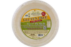 """Wholly Wholesome Gluten Free 9"""" Pie Shells - 2 CT"""