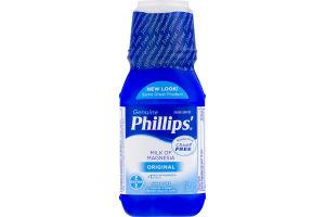 Phillips' Genuine Saline Laxative Milk Of Magnesia Original