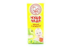 Сок яблочный с мякотью ОКЗДП Чудо-чадо т/п 0,2л