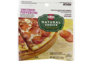Hormel Natural Choice Uncured Pepperoni